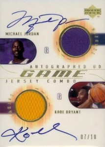 Top 20 Michael Jordan Washington Wizards Autograph Cards 4
