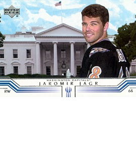 More Than Just a Pretty Mullet: Timeline of Upper Deck Jaromir Jagr Cards 17