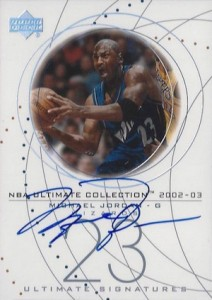 2002-03 Ultimate Collection Signatures Michael Jordan #MJ-S