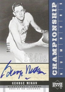 By George! The Top 15 George Mikan Basketball Cards of All-Time 20
