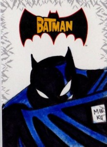 History of Batman Trading Cards 54