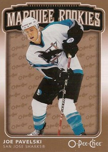 Joe Pavelski Rookie Card Checklist and Guide 5