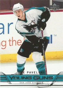 Joe Pavelski Rookie Card Checklist and Guide 7