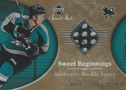 Joe Pavelski Rookie Card Checklist and Guide 8