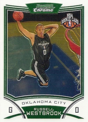 Top Russell Westbrook Rookie Cards to Collect 1