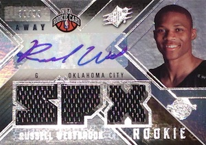 Top 10 Russell Westbrook Rookie Cards 8