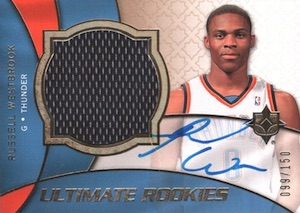 Top 10 Russell Westbrook Rookie Cards 11