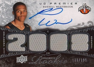 Top 10 Russell Westbrook Rookie Cards 10