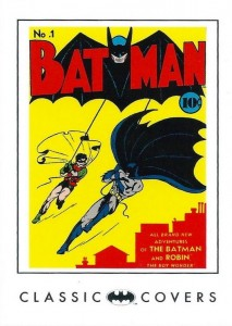History of Batman Trading Cards 75