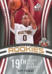 Jeff Teague Rookie Card Guide and Checklist 25
