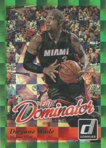 2014-15 Donruss Basketball Elite Dominators Dwyane Wade