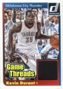 2014-15 Donruss Basketball Game Threads Durant