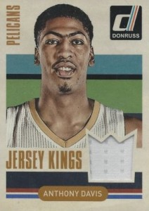 2014-15 Donruss Basketball Jersey Kings Anthony Davis