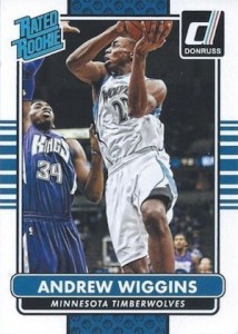 2014-15 Donruss Basketball Rated Rookie Andrew Wiggins RC