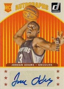 2014-15 Donruss Basketball Rookie Autographs