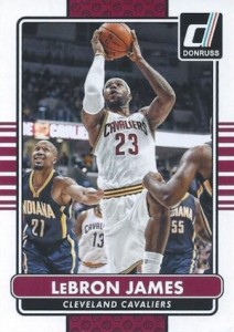 2014-15 Donruss Basketball base LeBron James