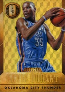 2014-15 Panini Gold Standard 106 Kevin Durant Two Hands
