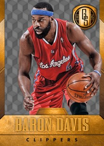 2014-15 Panini Gold Standard Basketball Variations Guide 72