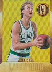 2014-15 Panini Gold Standard 167 Larry Bird White