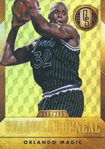 2014-15 Panini Gold Standard 181 Shaquille ONeal Black