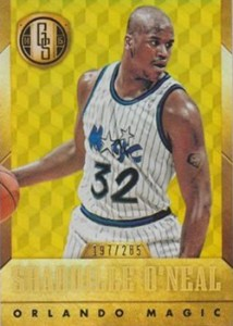 2014-15 Panini Gold Standard 181 Shaquille ONeal White