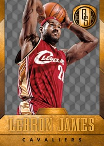 2014-15 Panini Gold Standard 23 LeBron James Cavs A