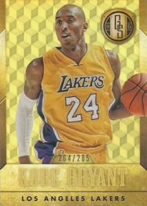 2014-15 Panini Gold Standard 4 Kobe Bryant Yellow Jersey