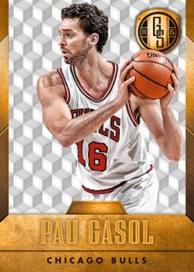 2014-15 Panini Gold Standard Basketball Variations Guide 54