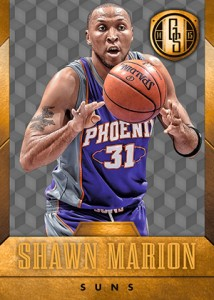 2014-15 Panini Gold Standard Basketball Variations Guide 55
