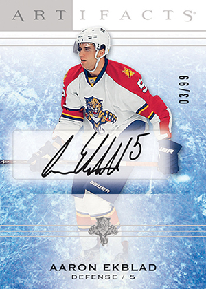 2014-15 Upper Deck Artifacts Rookie Redemption Autograph Aaron Ekblad
