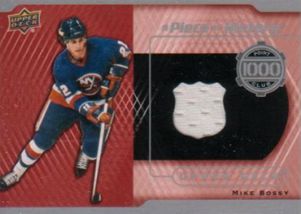 2014-15 Upper Deck Hockey 1000 Point Club Jersey Mike Bossy