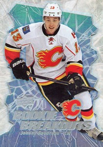 2014-15 Upper Deck Hockey Rookie Breakouts Johnny Gaudreau