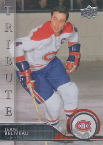 2014-15 Upper Deck Series 2 Jean Beliveau Acetate Tribute