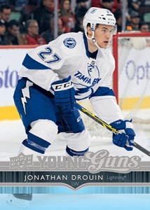 2014-15 Upper Deck Series 2 Jonathan Drouin Young Guns