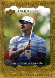 2014 Exquisite Collection Signature Masterpieces Michael Jordan #ES-MMJ