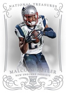 2014 National Treasures Malcolm Butler RC