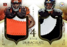 2014 Panini Immaculate Football Fours Front