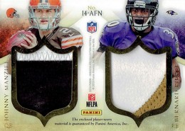2014 Panini Immaculate Football Fours Reverse