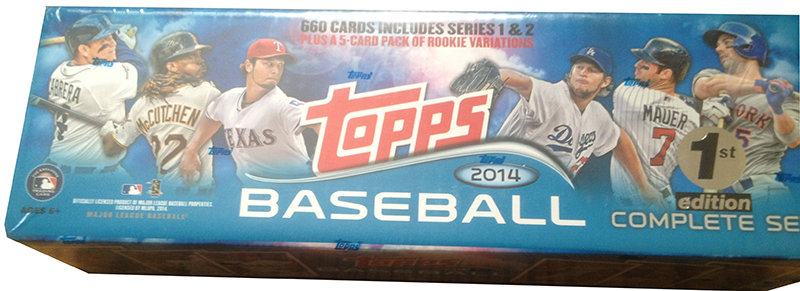 2014 Topps Baseball 1st Edition Is a Set You'll Rarely See 2