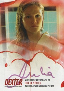 2015 Breygent Dexter Seasons 5 and 6 Julia Stiles Autograph