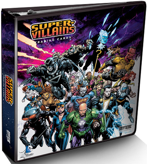 2015 Cryptozoic DC Comics Super-Villains Trading Cards - Product Review Added 3