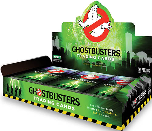 2016 Cryptozoic Ghostbusters Trading Cards - Product Review & Hit Gallery Added 3