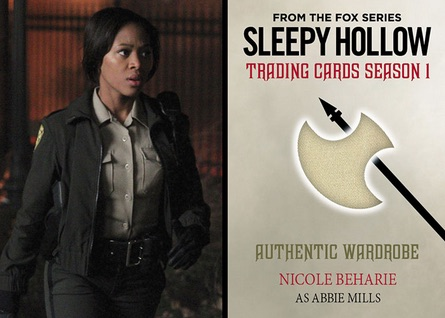 2015 Cryptozoic Sleepy Hollow Season 1 Trading Cards 27