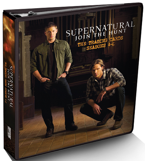2015 Cryptozoic Supernatural Seasons 4-6 Binder