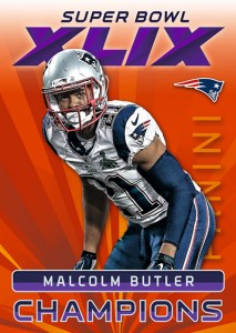 2015 Panini Super Bowl XLIX Football Cards 1