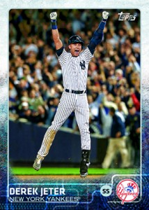 Derek Jeter Topps Cards Through the Years 12