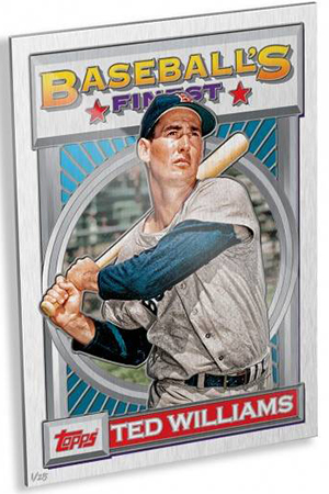2015 Topps 1993 Finest Wall Art Ted Williams