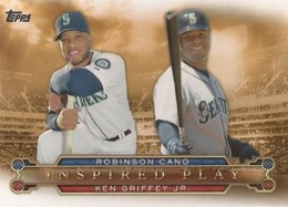 2015 Topps Inspired Play Cano Griffey