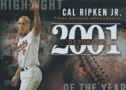 2015 Topps Series 1 Baseball Highlight of the Year