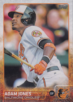 2015 Topps Sparkle Variation 169 Adam Jones